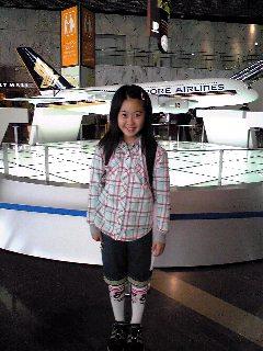 模型の飛行機☆
