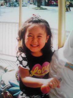 3歳の夏美♪